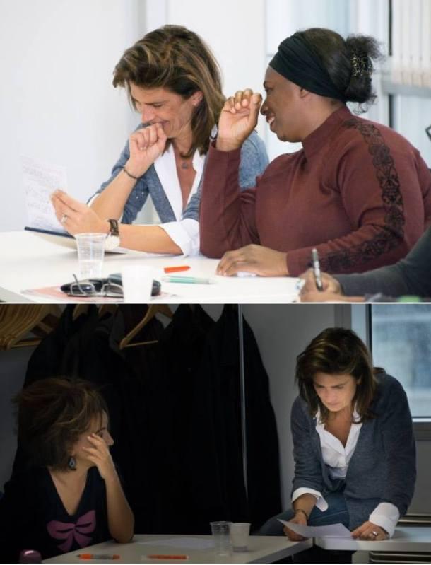 Atelier d'écriture auprès des membres de l'association LED BY HER. Un moment convivial et chaleureux