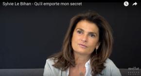 Librairie Mollat – Sylvie Le Bihan parle de son dernier roman : Qu'il emporte monsecret